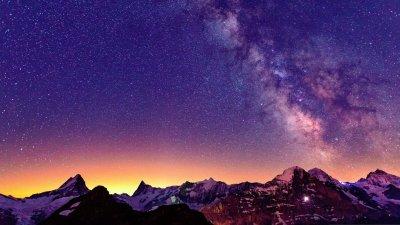 Vía Láctea Full HD Fondo de Pantalla and Fondo de Escritorio | 2048x1152 | ID:560780