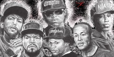 N.W.A. HD Wallpaper | Background Image | 2400x1200 | ID:860592 - Wallpaper Abyss