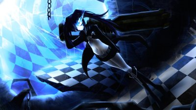 Black Rock Shooter HD Wallpaper | Background Image | 1920x1080 | ID:148646 - Wallpaper Abyss