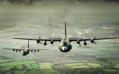 Lockheed C-130 Hercules Full HD Wallpaper and Background Image | 1920x1200 | ID:623282