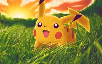 Anime Pokémon Pikachu Video Game HD Wallpaper   Background Image