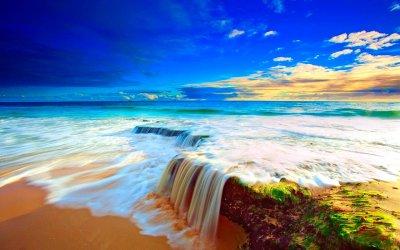 BEACH [04] waterfallbeach [21december2012friday] [134257] [VersionOne] Full HD Wallpaper and ...