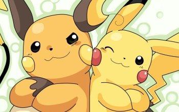 Anime Pokémon Pikachu Raichu Video Game HD Wallpaper   Background Image