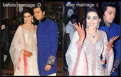 genelia d'souza :most cutest one images genelia and ritesh HD wallpaper and background photos ...