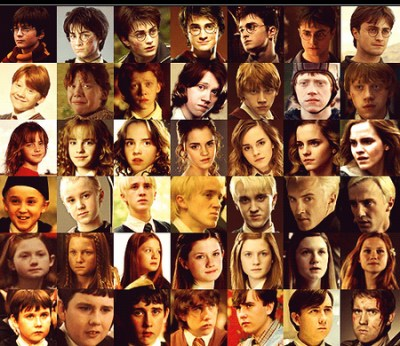 Harry Potter images Characters over the years wallpaper and background photos (30028654)