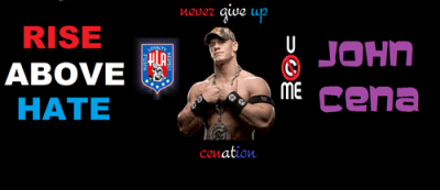 John Cena images john cena rising above hate HD wallpaper and background photos (30773631)