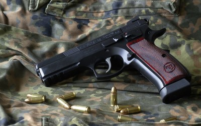 1 Cz 75 Sp01 Shadow Target Pistol HD Wallpapers | Background Images - Wallpaper Abyss