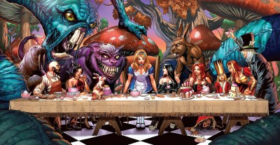 6 Grimm Fairy Tales: Alice in Wonderland HD Wallpapers | Background Images - Wallpaper Abyss