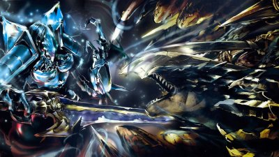 Cocytus Vs Lizardman HD Wallpaper | Background Image | 2560x1440 | ID:655517 - Wallpaper Abyss