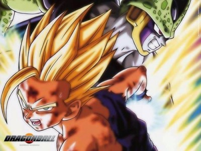 Dragon Ball Z images Gohan vs Cell HD wallpaper and background photos (34917266)