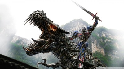 darcus-floris images Transformers 4 optimus prime vs dinobot fond d'écran 960x540 HD fond d ...