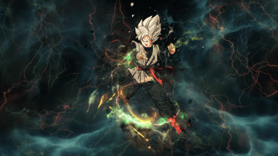 120 Black Goku HD Wallpapers | Background Images - Wallpaper Abyss