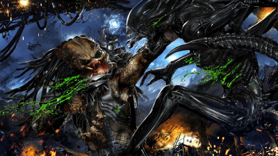 Alien vs. Predator HD Wallpaper | Background Image | 2400x1350 | ID:785112 - Wallpaper Abyss