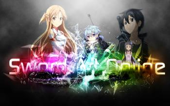 Anime Sword Art Online Yui Kirito Asuna Yuuki Sinon HD Wallpaper   Background Image