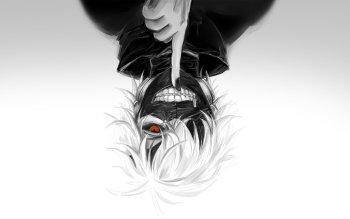 Anime Tokyo Ghoul Ken Kaneki White Hair Mask HD Wallpaper   Background Image