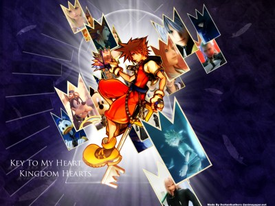 Kingdom Hearts Game Wallpaper 02 | Imagez Only