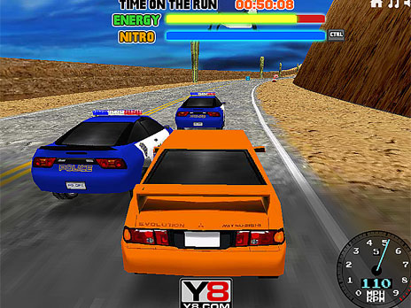 Play Super Chase 3D game online - Y8.COM