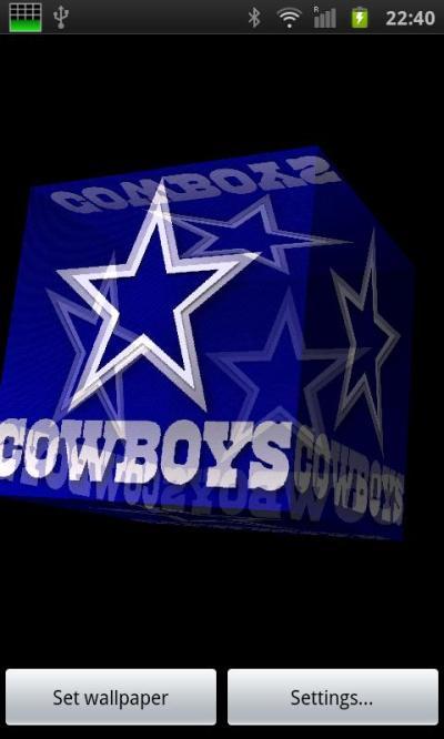 Download Dallas Cowboys 3D Live Wallpaper Gallery