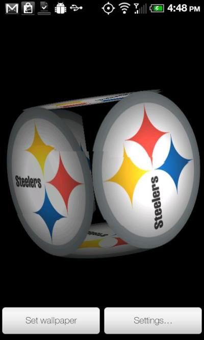 Steelers Live Wallpaper 1.0 Android app