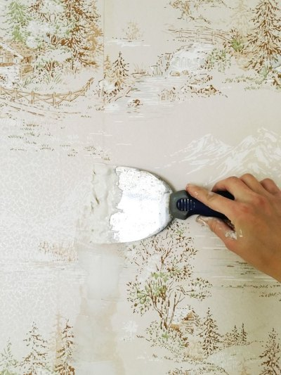 How to Easily Apply Paint Over Hard to Remove Wallpaper | eHow