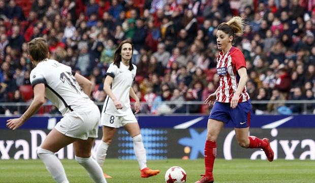 Un punto para estrenar el Metropolitano: Atlético de Madrid Femenino 2-2 Madrid CFF - Atléti1903 ...