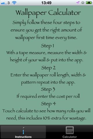 Scenery Wallpaper: Wallpaper Calculator
