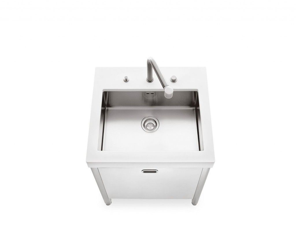 product kitchen sink cabinets Stainless steel kitchen sink cabinet SINK 70 ALPES INOX