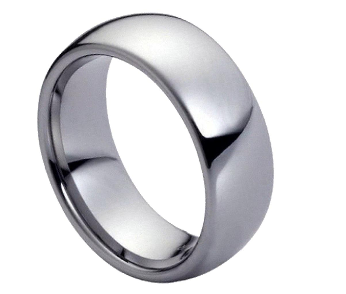 tungsten carbide wedding bands Black Tungsten Carbide Wedding Band Ring Mens Jewelry