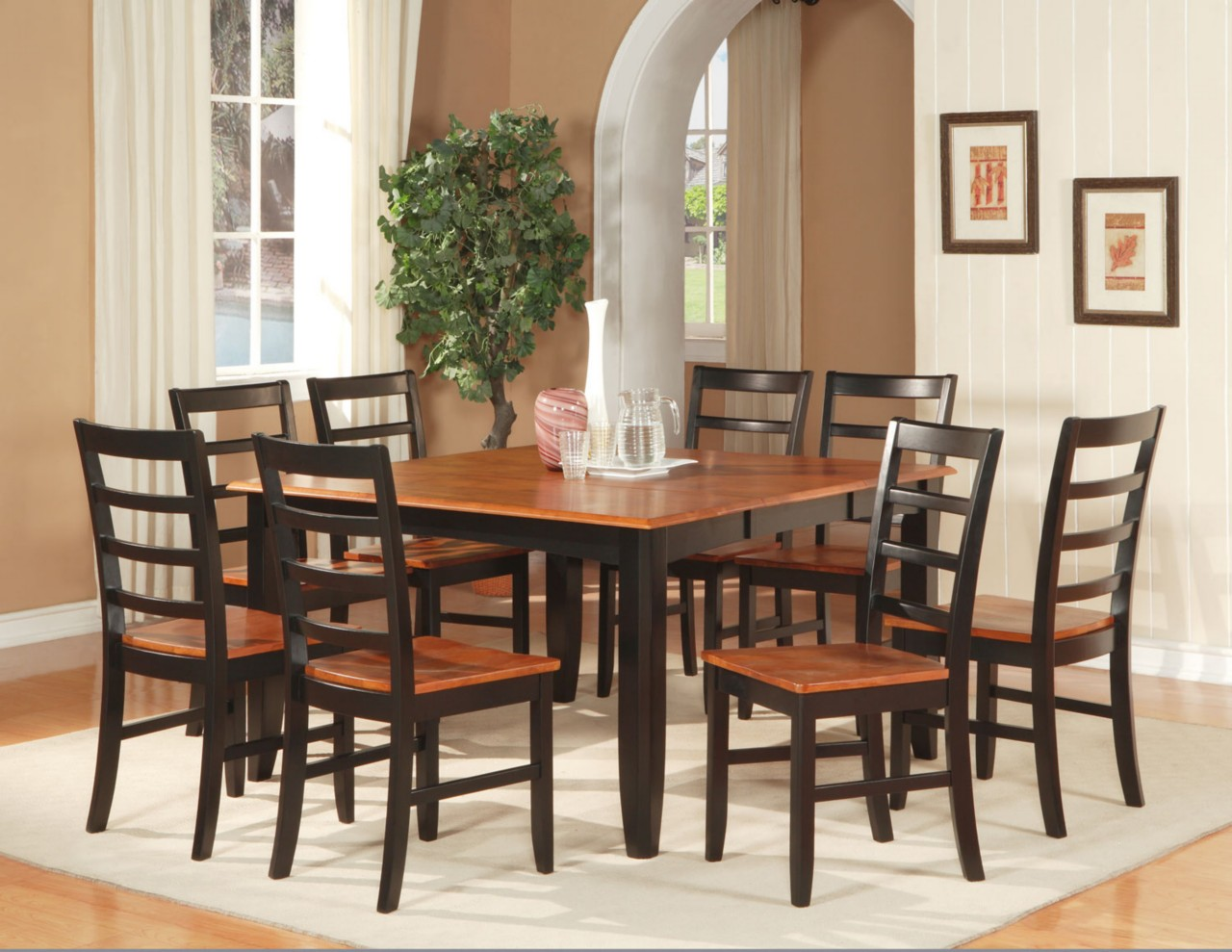 dining room table for 8 kitchen table chairs Table For 8 Contemporary Square Dining