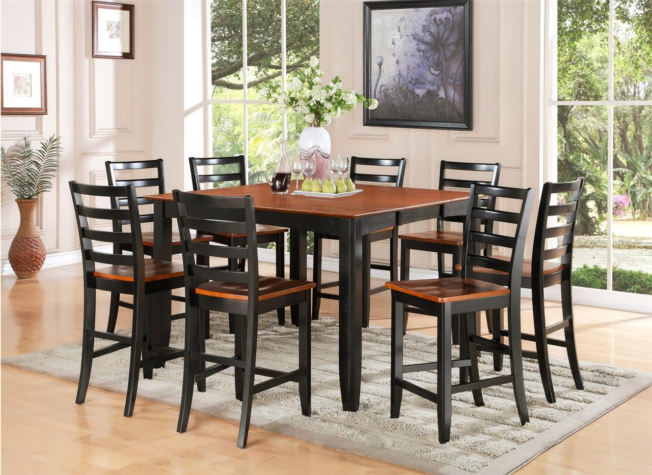 tall dining tables wooden kitchen tables Tall Table