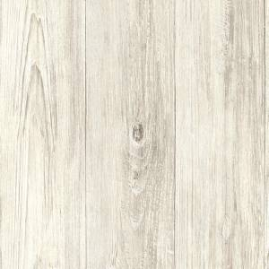 Wallpaper Faux Cream Beige off White Taupe Gray Wood Plank Paneling