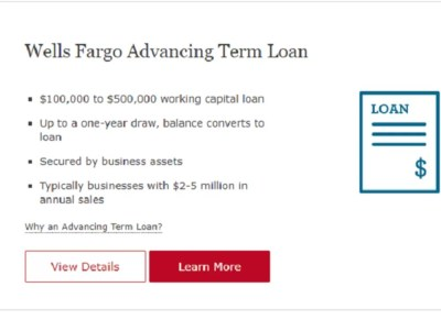 Wells Fargo Business Loan Review 2018   Business Loan and Financing Option Reviews