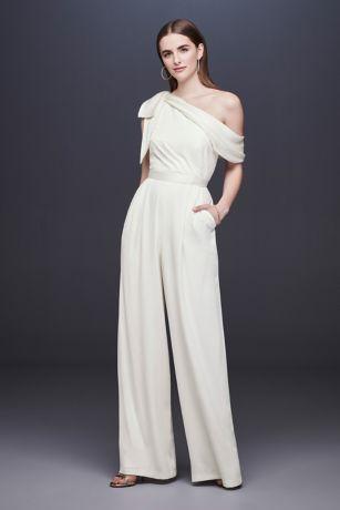 Wedding Jumpsuits, Pantsuits & Rompers | David's Bridal