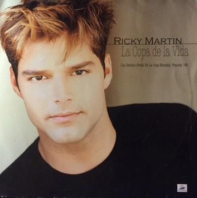 Ricky Martin - La Copa De La Vida (The Official Song Of The World Cup, France 98) (Vinyl, 12 ...
