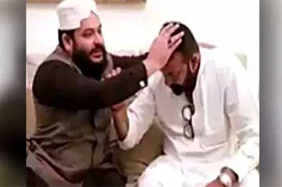 Sanjay Dutt meets Pakistani  pir  in Dubai   Entertainment   Dunya News Sanjay Dutt meets Pakistani  pir  in Dubai
