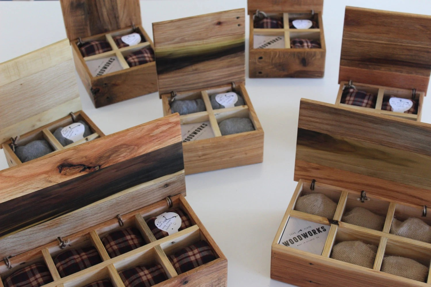 Watch Box Multiple Sizes With Engraving Lumberjack