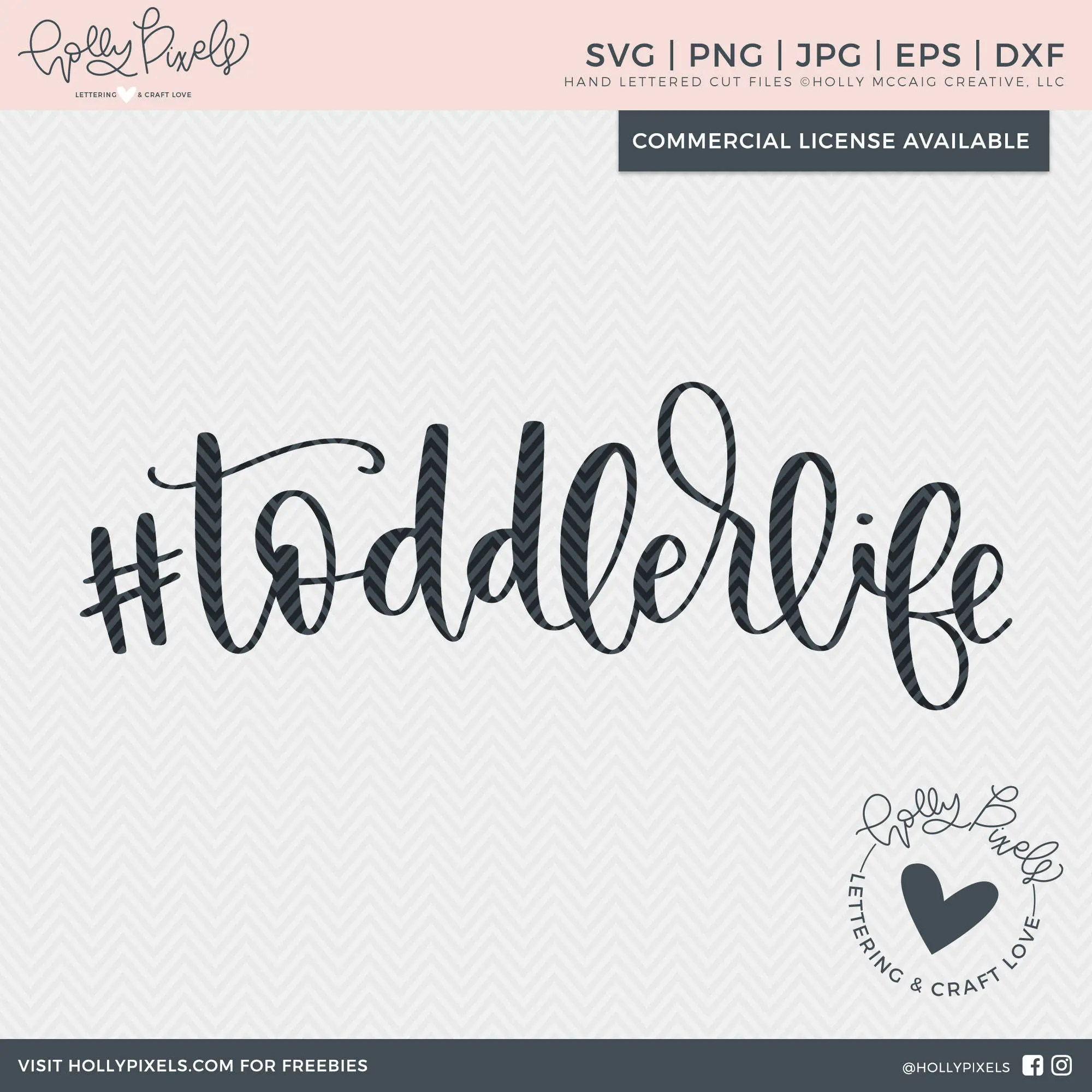 Hashtag SVG Toddler Life Hashtag Toddler Life Kid SVG