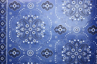 Retro Wallpaper by the Yard 70s Vintage Wallpaper 1970s Blue