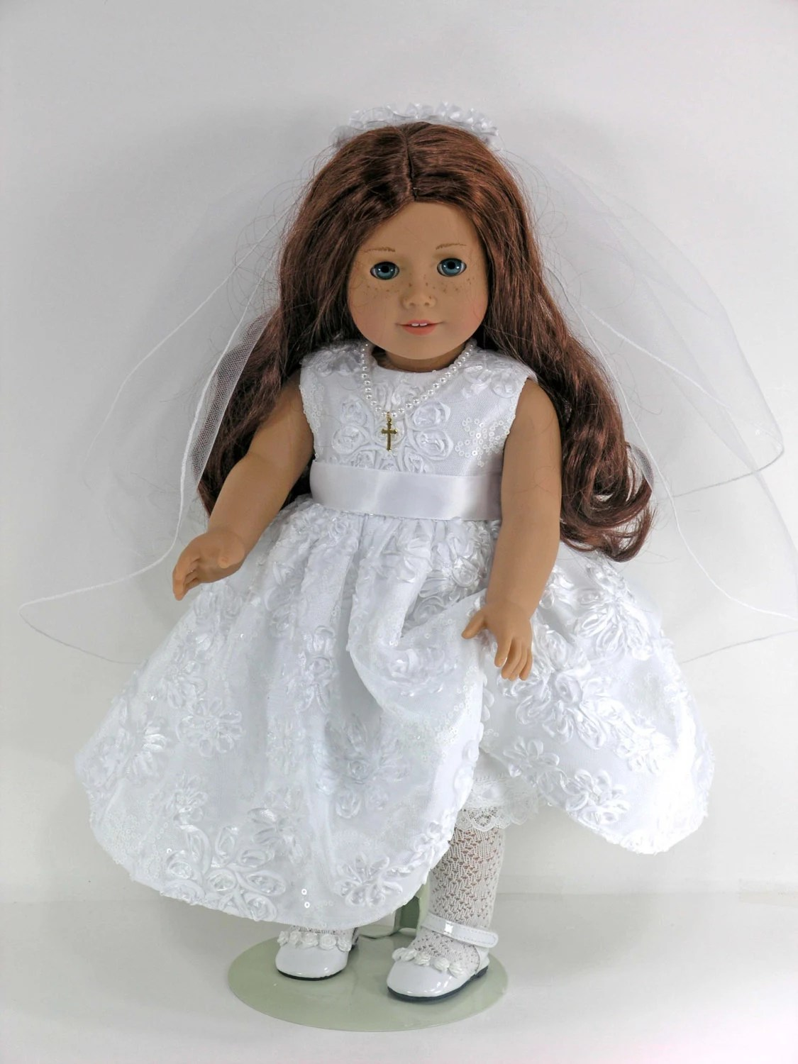 Handmade Doll Clothes for American Girl Holy First Communion