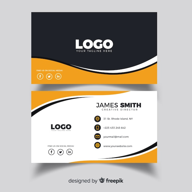 Business Card Vectors, Photos and PSD files   Free Download