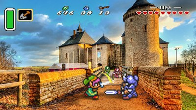 Real-Life Photos Mixed With 16-Bit Video Games Are Amazing ...