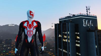 Spider-Man 2099 All New All Different [ADD-ON] - GTA5-Mods.com