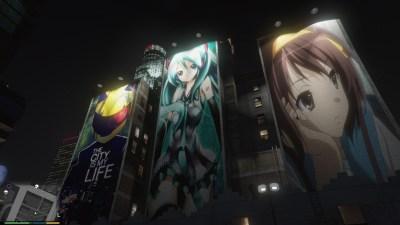 Downtown Anime Mod - GTA5-Mods.com