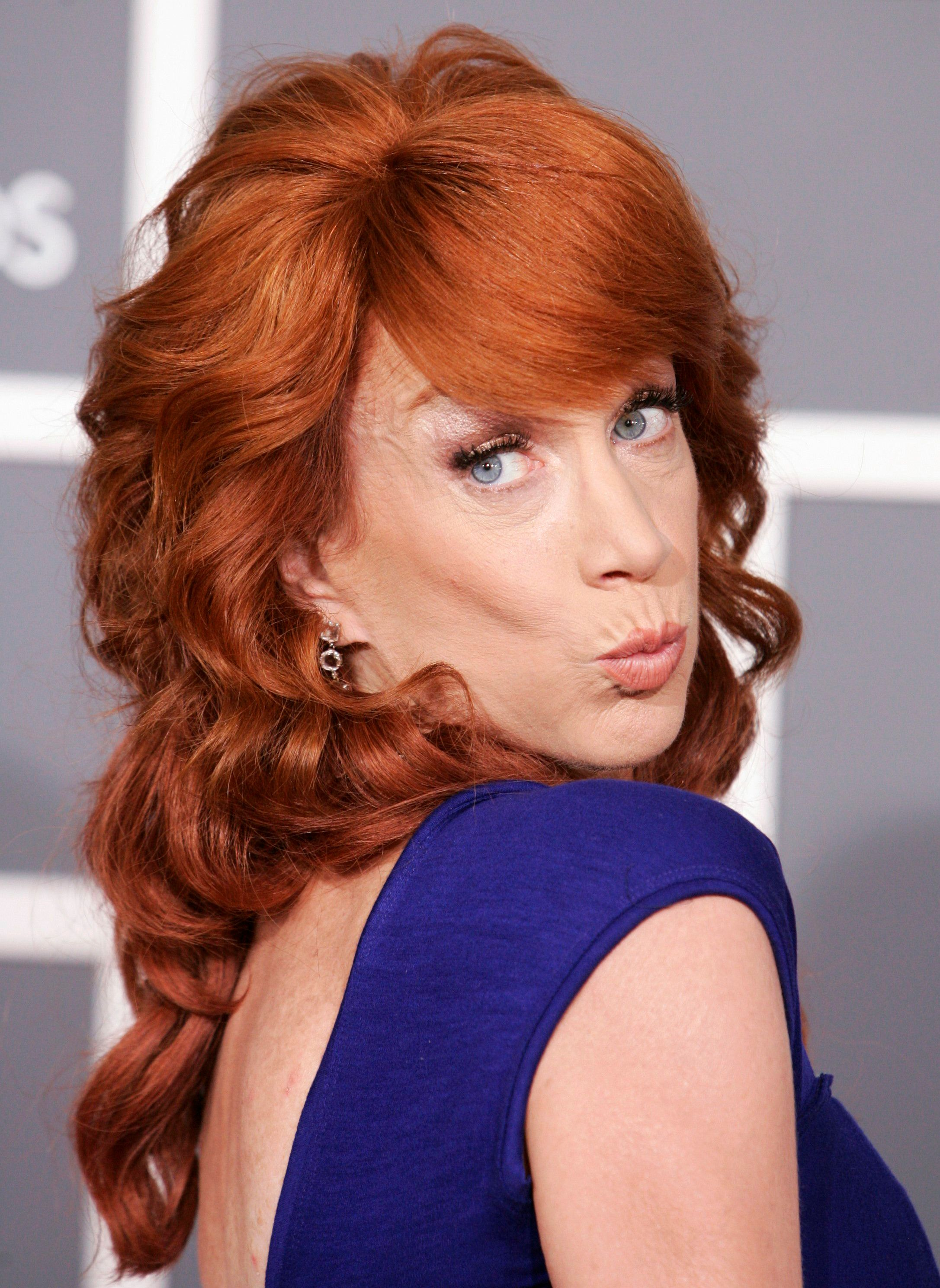 Kathy Griffin Goes Topless To Celebrate Manafort  Cohen Guilty     Kathy Griffin