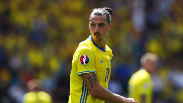 Zlatan Ibrahimovi     names condition for international return at World     Zlatan Ibrahimovi     names condition for international return at World Cup  2018