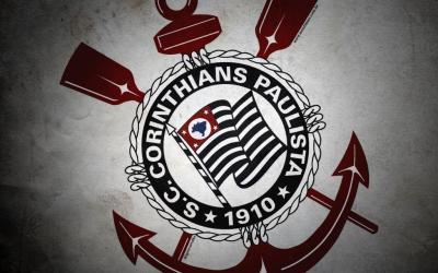 Wallpaper do Corinthians: Corinthians é preto no branco