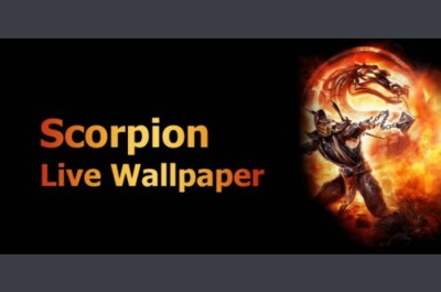 Pobierz program Skorpion na żywo Tapety Tapeta dla systemu Android