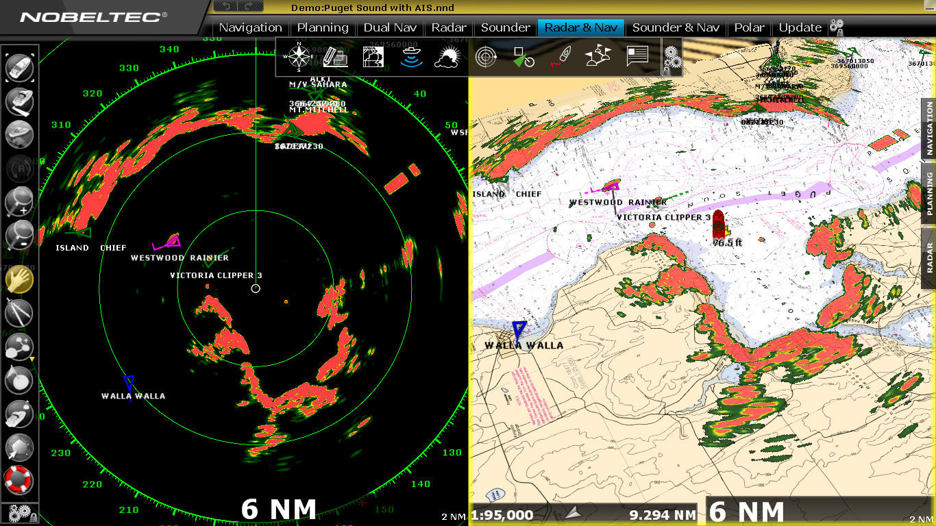 Navigation software   for ships   for yachts   TRIDENT   Nobeltec     navigation software   for ships   for yachts   TRIDENT