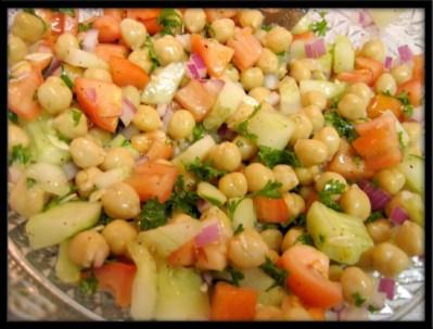 Cucumber And Garbanzo Bean Salad Recipe - Food.com