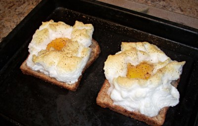 Eggs On A Cloud For One Or Two Toaster Oven) Recipe - Genius Kitchen